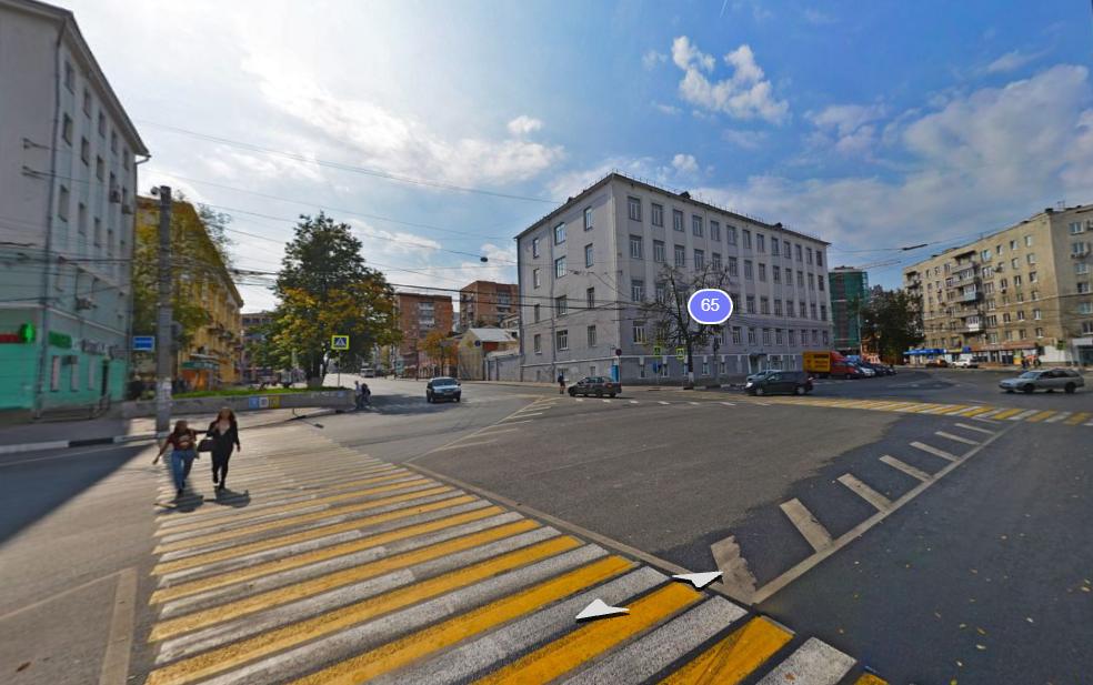 Один пешеходный переход вместо двух сделают на площади Горького в сторону площади Лядова - фото 1