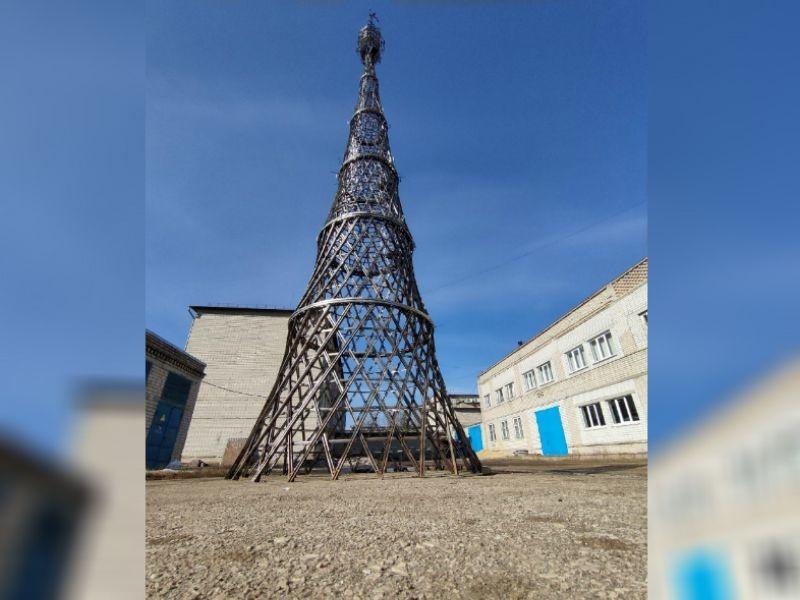 Уменьшенная копия Шуховской башни появилась в Арзамасе - фото 1