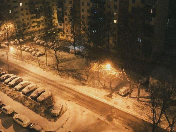 Фотографиями первого снега поделились жители Нижнего Новгорода - фото 2
