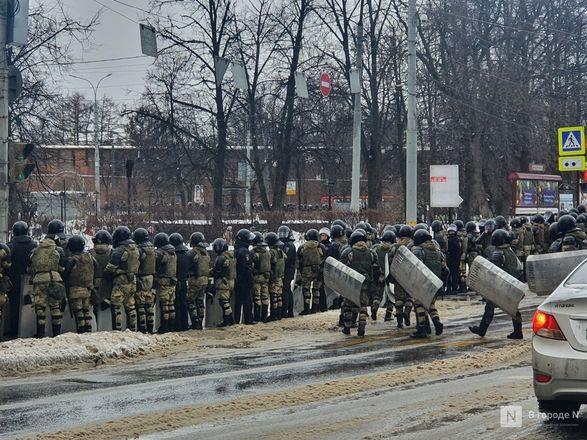 Протестующих вытеснили с площади Минина и Пожарского - фото 3