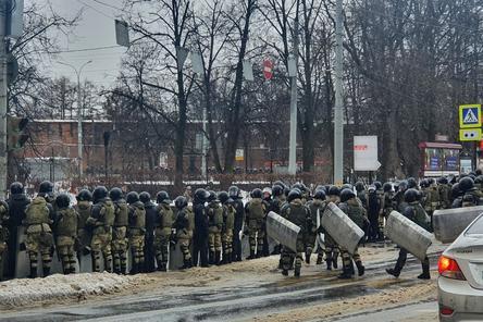 Глеб Никитин прокомментировал работу ОМОНа на митинге в Нижнем Новгороде