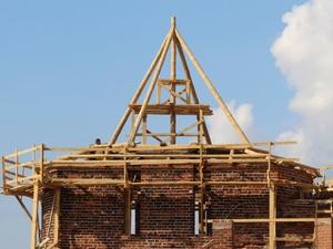 Восстановление Нижегородского кремля после урагана завершится в декабре (ФОТО)
