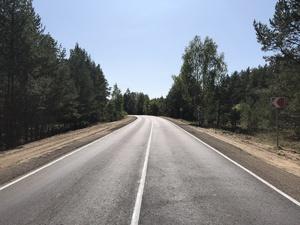 Сосновский участок дороги из Павлова в Саконы отремонтировали в Нижегородской области