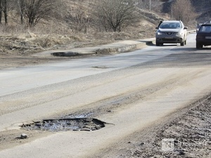 Опасную дорогу обнаружила прокуратура в Дивееве