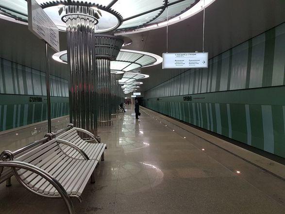 Ремонт станции метро «Стрелка» завершится в конце февраля - фото 1