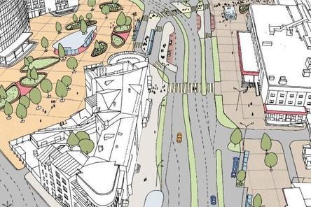 У Московского вокзала будет меньше машин и рекламы, но больше деревьев