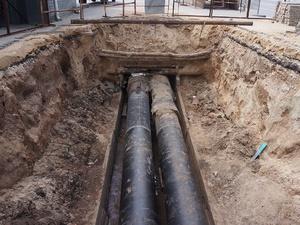Реконструкция тепловой сети началась в Дзержинске на улице Панфиловцев