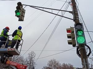 125 светофоров в Нижнем Новгороде управляются дистанционно