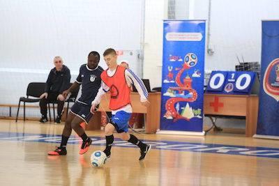 Товарищеский матч по мини-футболу прошел в Нижнем Новгороде