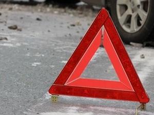 Неопытная водитель иномарки наехала на пешеходов в Сосновском районе