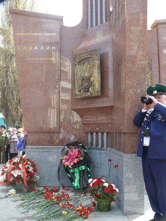 В Нижнем Новгороде торжественно открыли памятник пограничникам - фото 2
