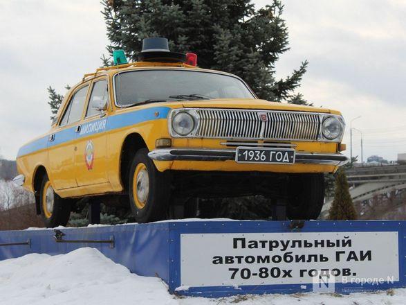 Два экспоната пополнили музей техники нижегородской ГИБДД - фото 5