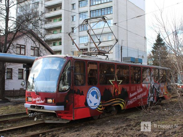 «Трамвай Победы» начал ходить по Нижнему Новгороду - фото 20