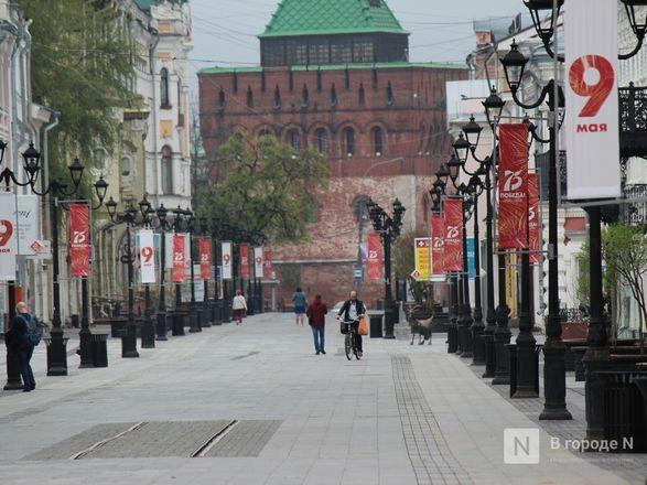 Пустые улицы и «Бессмертный полк» на балконах - фото 31