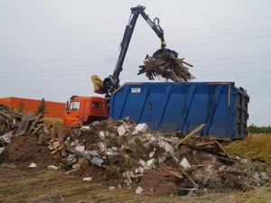 Около 1 500 кубометров мусора вывезли со свалок в Приокском районе
