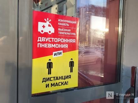 Заболеваемость коронавирусом сильнее всего растет в ближайших к Нижнему Новгороду районах