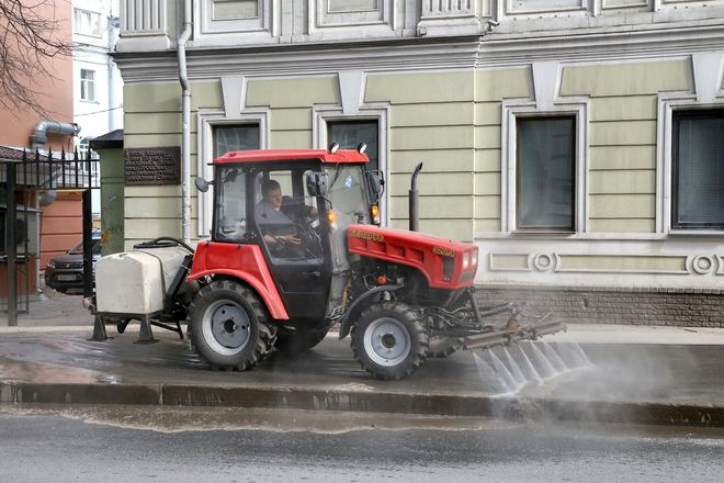 Санкции применят к подрядчикам за некачественную уборку улиц Нижнего Новгорода - фото 1