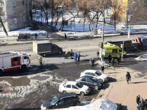 Грузовик сбил насмерть пешехода на проспекте Героев