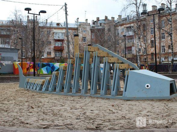 Благоустройство Чернопрудского сквера завершится в следующем году - фото 22