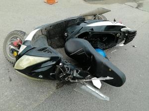 Несовершеннолетние мотоциклист и мопедист попали в аварию в Гагинском районе