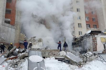 Опубликовано видео момента взрыва газа в Нижнем Новгороде