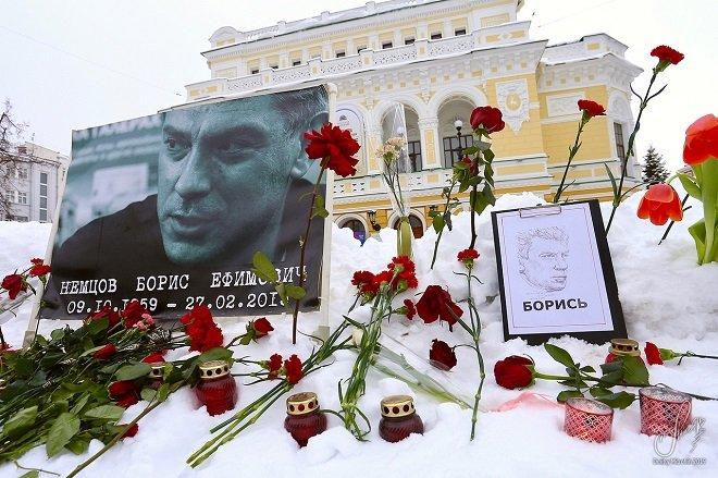 В Нижнем Новгороде почтили память Бориса Немцова