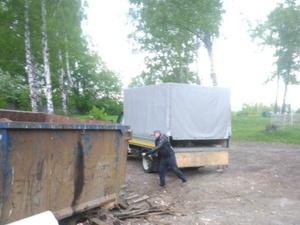 Незаконную свалку строительного мусора обнаружили в поселке Гнилицы