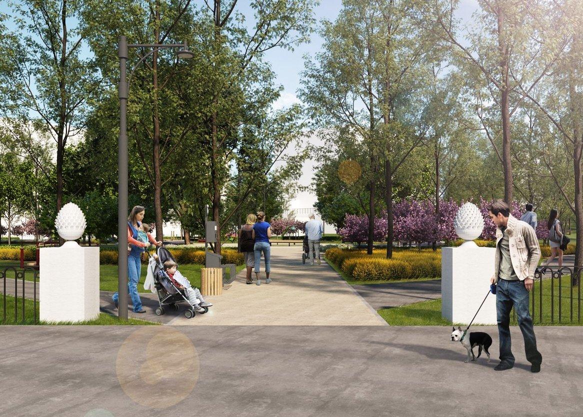 Без амфитеатра, но с детскими площадками: концепцию благоустройства Ковалихинского сквера утвердили нижегородцы - фото 1