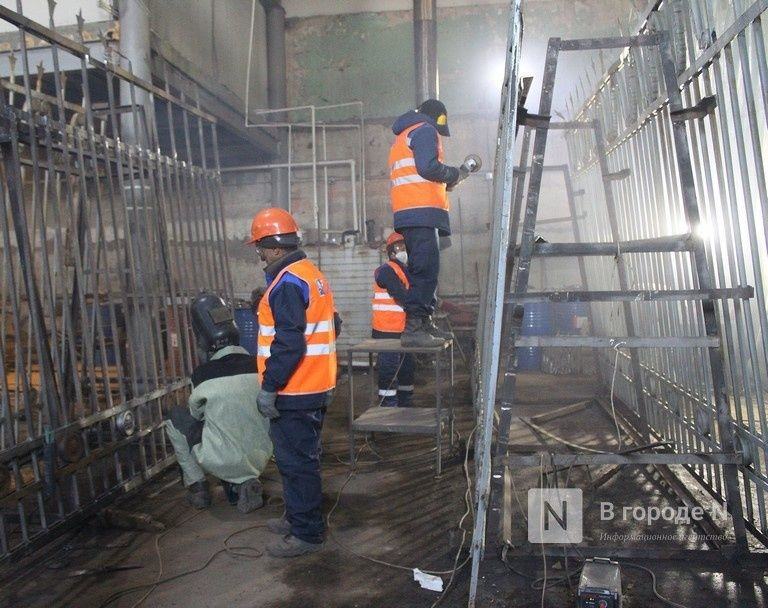 Реставрация исторической ограды парка «Швейцария» завершается в Нижнем Новгороде - фото 1