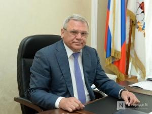 Глеб Никитин освободил Евгения Люлина от должности первого заместителя губернатора
