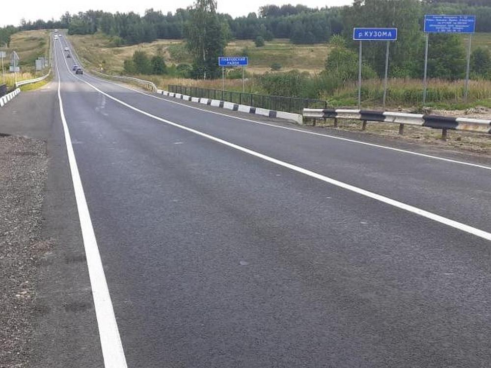 Подъездную дорогу к Ваче отремонтировали в Нижегородской области - фото 1