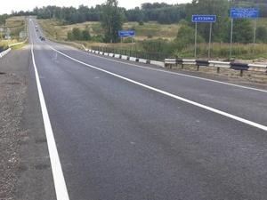 Подъездную дорогу к Ваче отремонтировали в Нижегородской области