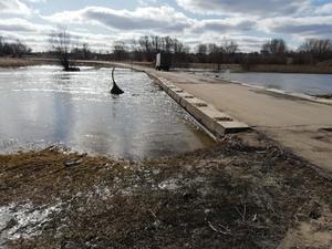 Два моста освободились от воды в Нижегородской области
