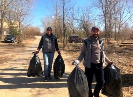 Нижегородцы избавили город от 140 несанкционированных свалок