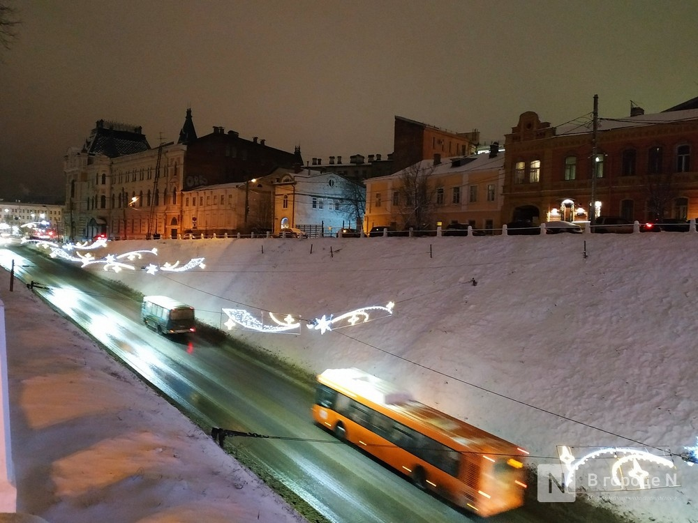 Опубликован режим работы транспорта в Нижнем Новгороде в новогодние праздники - фото 1