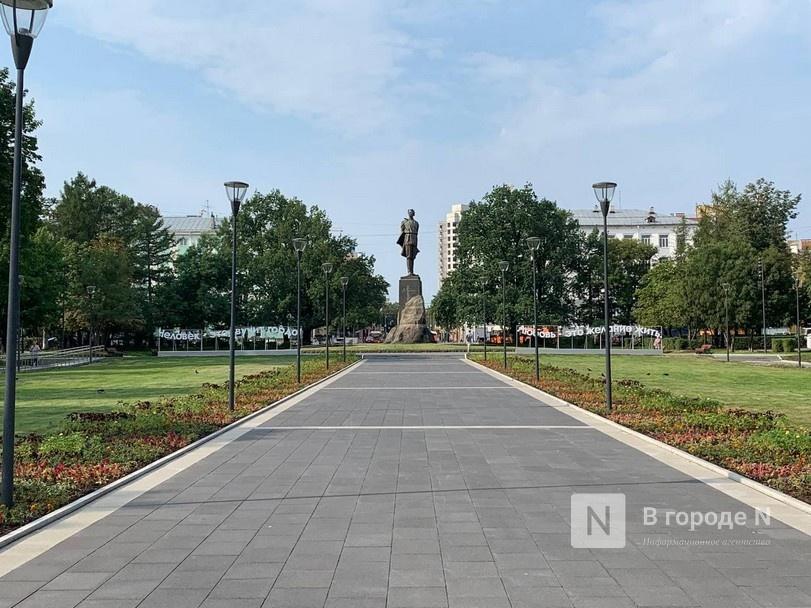 Сквер на площади Горького открыли для нижегородцев - фото 1