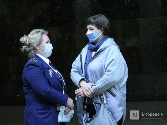 200 пассажиров нижегородского метро получили бесплатные маски - фото 26