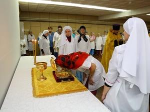 Ковчег с частицей мощей святителя Луки побывал в нижегородских больницах