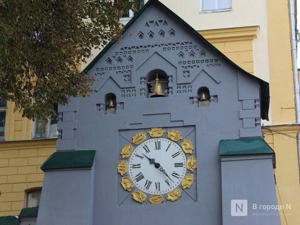 Хранители времени: самые необычные уличные часы Нижнего Новгорода - фото 3