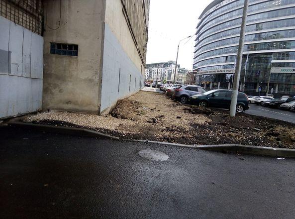 Ремонт улицы Ковалихинской приостановился из-за задержки в поставке материала - фото 1