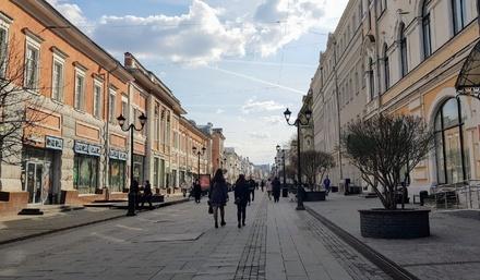 Самой дорогой благоустроенной улицей России стала нижегородская Покровка
