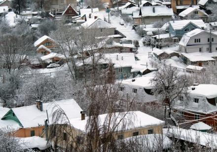 Прокуратура потребовала очистить от снега частный сектор в Сормове