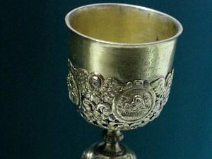 Кубок Николая II выставят в Дмитриевской башне кремля