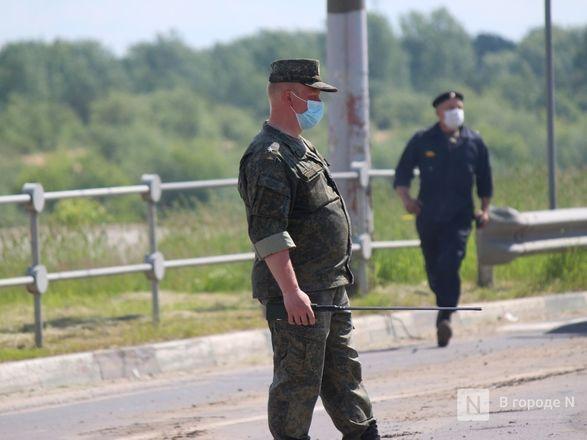 Танкисты в масках: первая репетиция парада Победы прошла в Нижнем Новгороде - фото 67