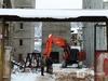 До лета продлится снос элеватора мукомольного завода под метромостом в Нижнем Новгороде