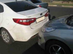 Две иномарки столкнулись на Казанском шоссе