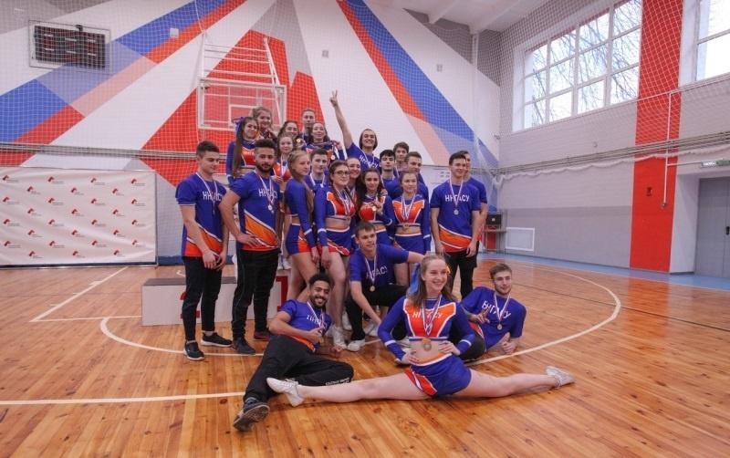 Сборная ННГАСУ заняла 1-е место в соревнованиях по чир-спорту Универсиады-2021 - фото 1
