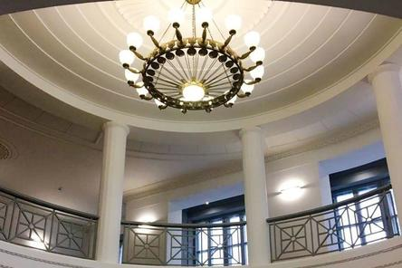 В здании нижегородского кинотеатра «Рекорд» началась реставрация