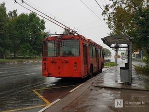 Троллейбус №22 возвращается на маршрут «ул. Минеева — 7-я проходная ГАЗ»