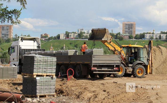 Парк вместо парковки: как идет благоустройство Окской набережной в Нижнем Новгороде - фото 39